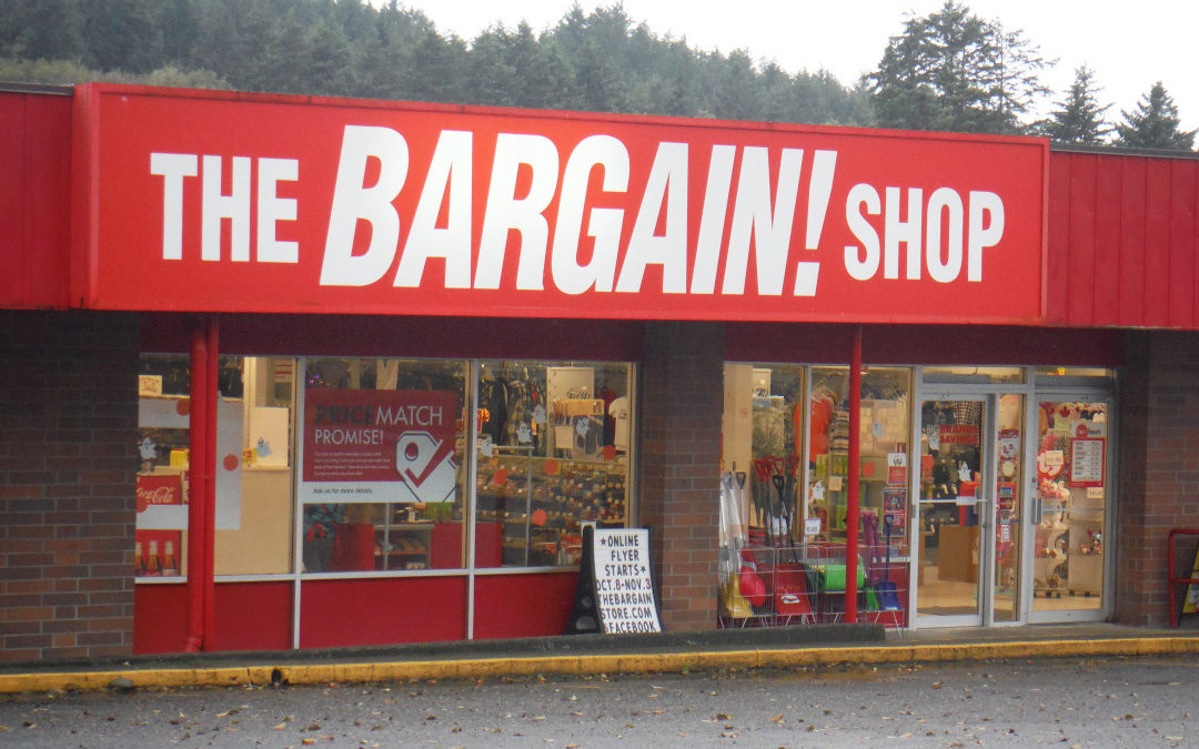 The Bargain! Shop Food Bank 2019 Thanksgiving Food Drive